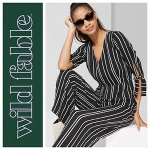 NWT Wild Fable Striped Jumpsuit SMALL